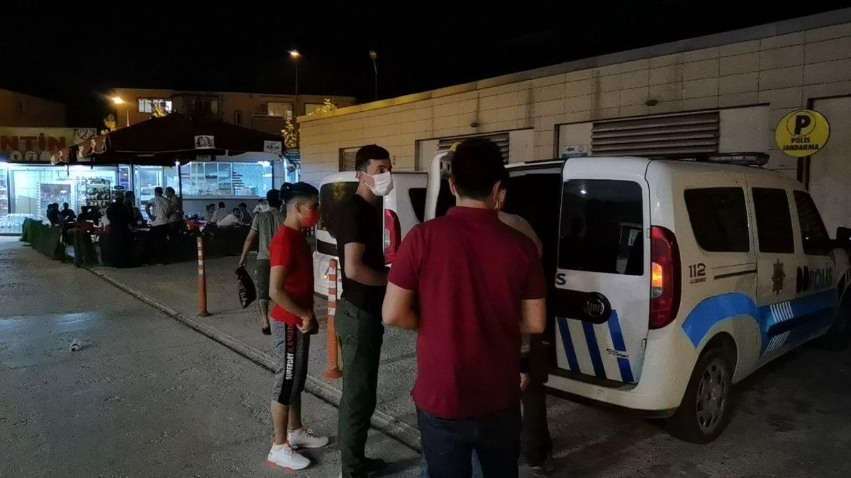 Bursa da 5 kaçak göçmen yakalandı #1
