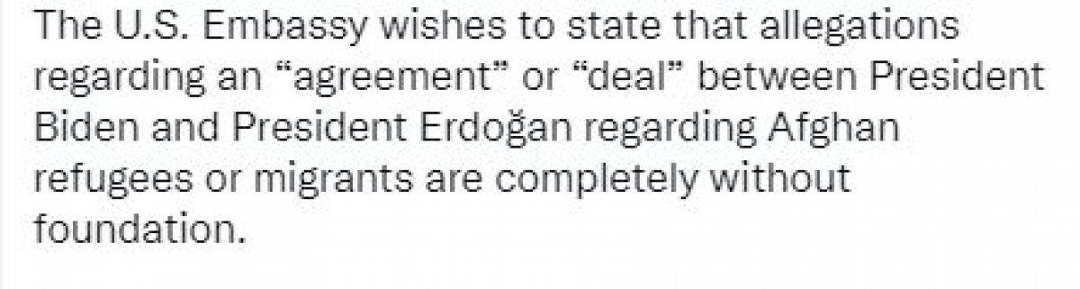 ABD den Türkiye ile göçmen pazarlığı iddialarına yanıt #4