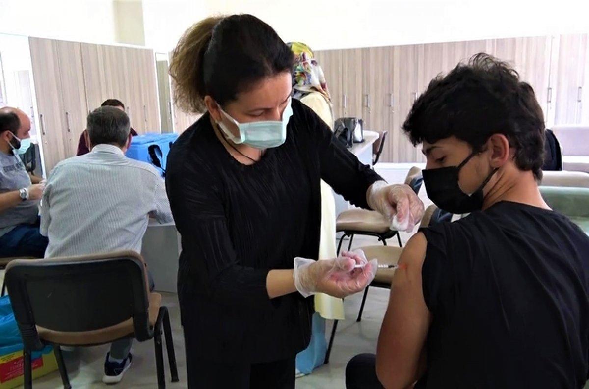 Çocuklara koronavirüs aşı randevusu nasıl alınır? MHRS 12 ve 15 yaş üstü aşı randevusu alma ekranı #1