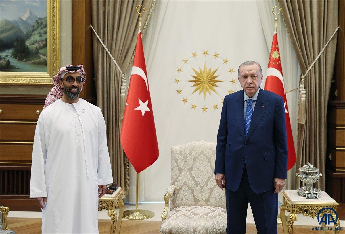 Cumhubaşkanı Erdoğan, BAE Ulusal Güvenlik Danışmanı nı kabul etti #1