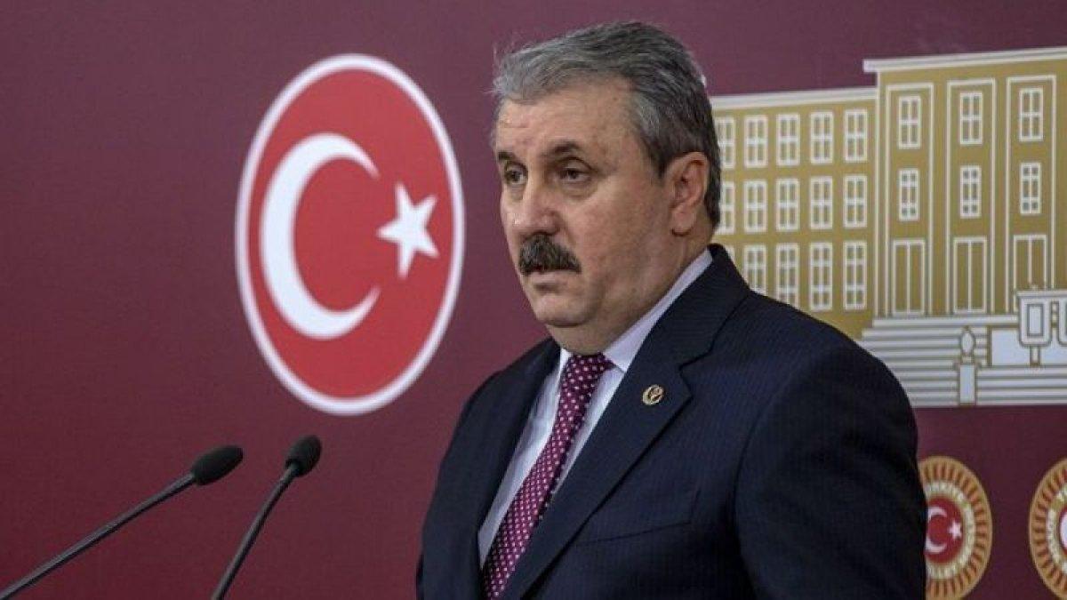 Mustafa Destici: Kontrolsüz göç önlenmeli #1