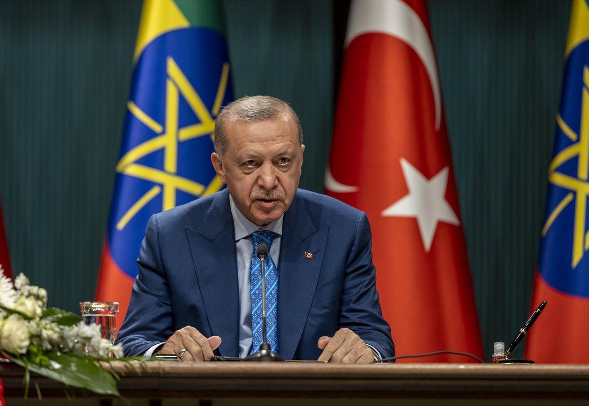 Cumhurbaşkanı Erdoğan ile Etiyopya Başbakanı ndan ortak açıklama #2