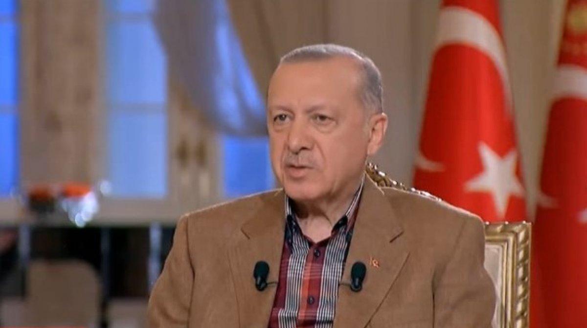 Cumhurbaşkanı Erdoğan dan gündeme ilişkin açıklamalar #2
