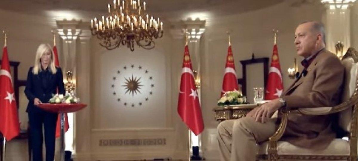 Cumhurbaşkanı Erdoğan dan gündeme ilişkin açıklamalar #3