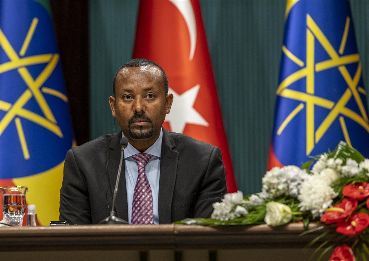 Cumhurbaşkanı Erdoğan ile Etiyopya Başbakanı ndan ortak açıklama #3