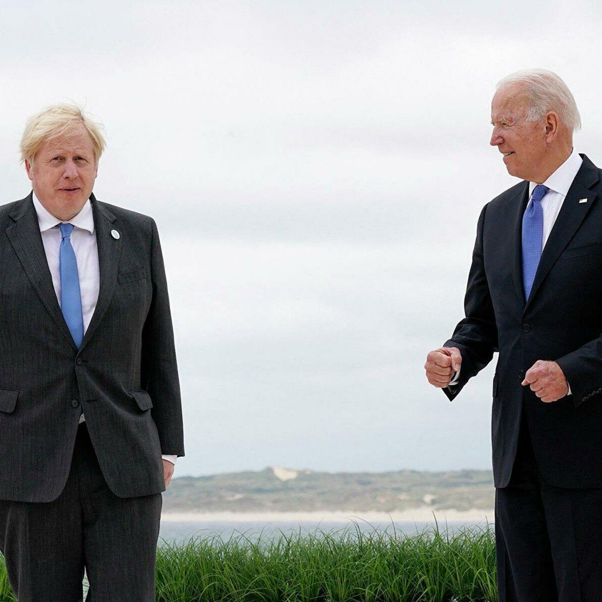Joe Biden ile Boris Johnson, Afganistan daki son durumu ele aldı #1