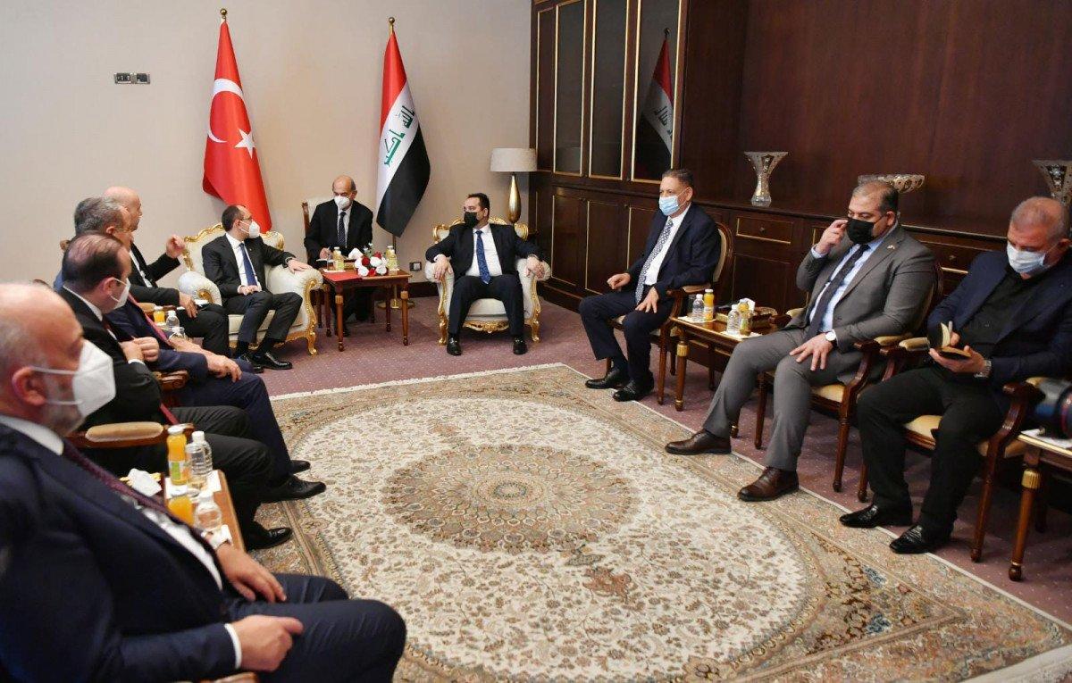Ticaret Bakanı Muş, Irak Ticaret Bakanı Obaid ile bir araya geldi #1