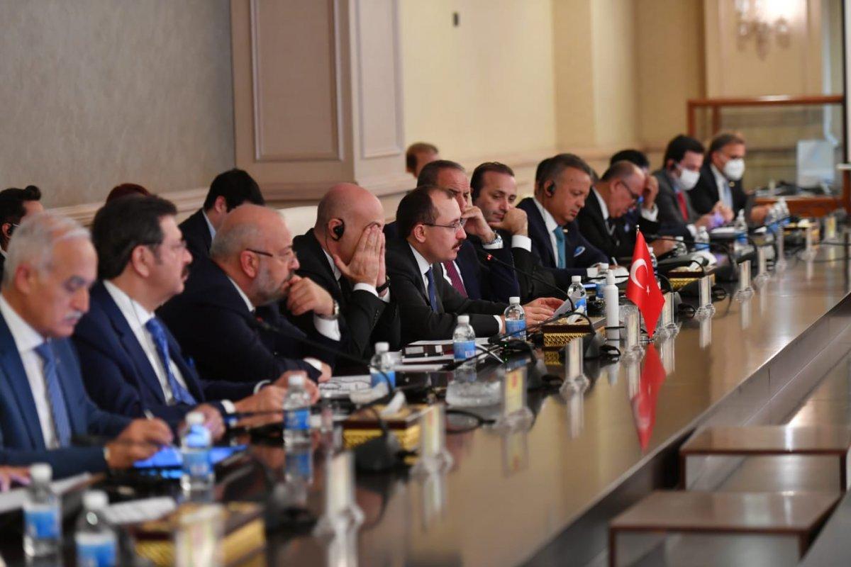 Ticaret Bakanı Muş, Irak Ticaret Bakanı Obaid ile bir araya geldi #2