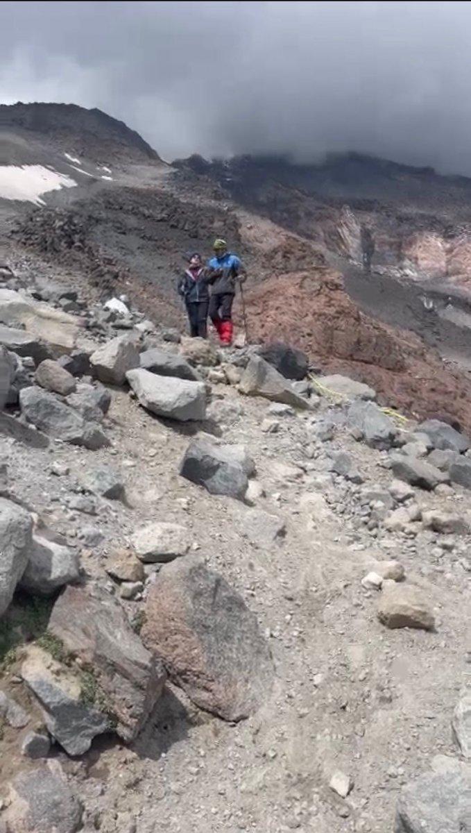 Görme engelli Melisa, Ağrı Dağı na tırmandı #3