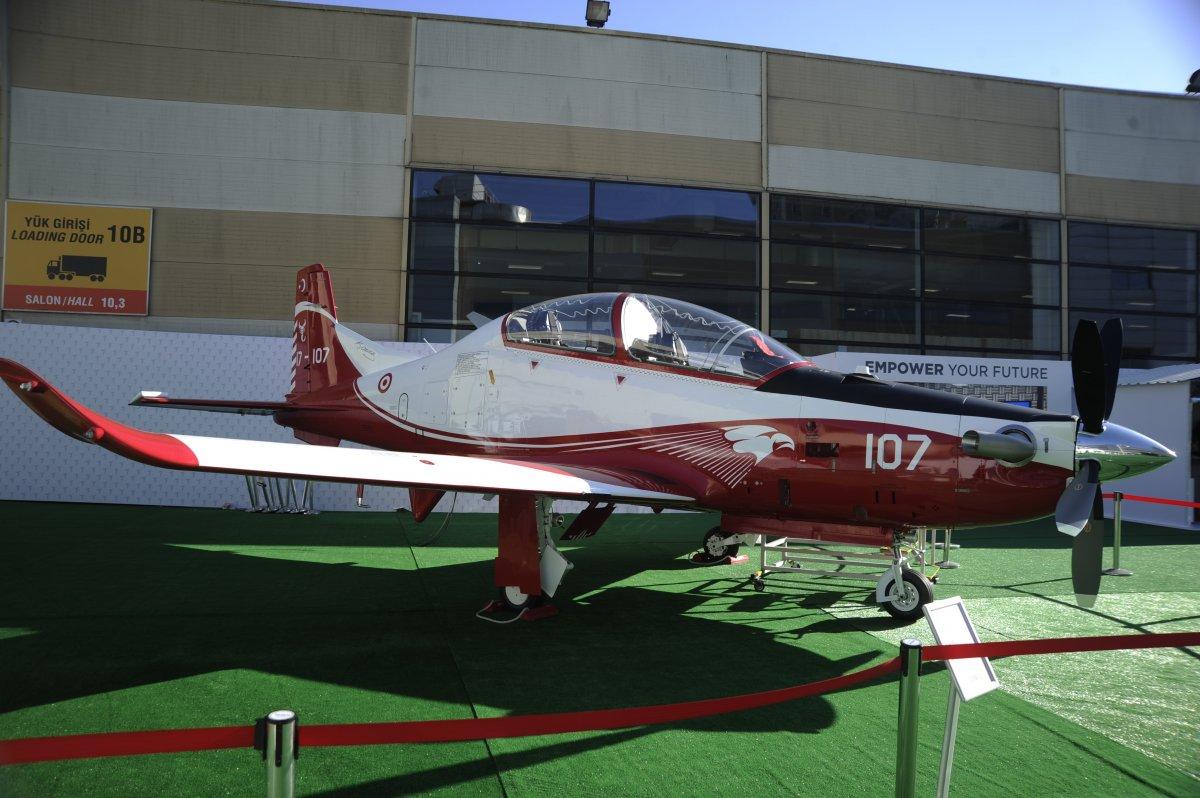 TUSAŞ ın geliştirdiği Milli Muharip Uçak, IDEF te görücüye çıktı #3