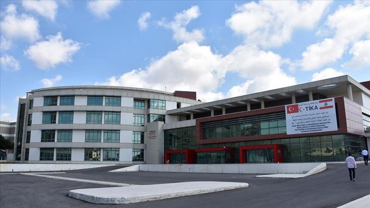 Lübnan daki Sayda Türk Hastanesi faaliyete geçiyor #1