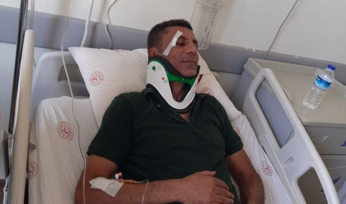 Şanlıurfa da hasta yakınları sağlıkçıya saldırdı  #1