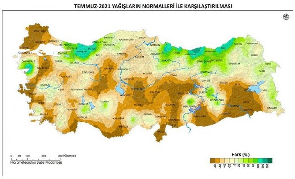 Türkiye, sellere rağmen son 60 yılın en düşük tarım yağışlarını gördü #3