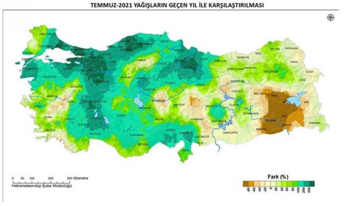 Türkiye, sellere rağmen son 60 yılın en düşük tarım yağışlarını gördü #1