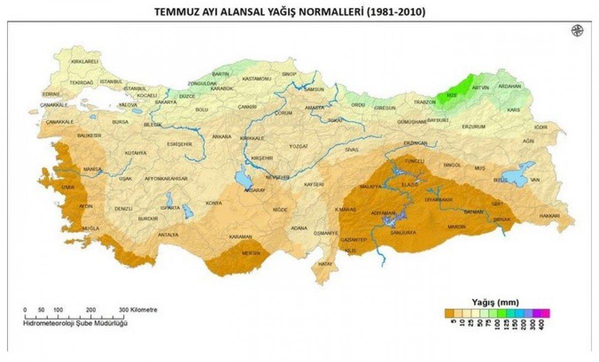 Türkiye, sellere rağmen son 60 yılın en düşük tarım yağışlarını gördü #2
