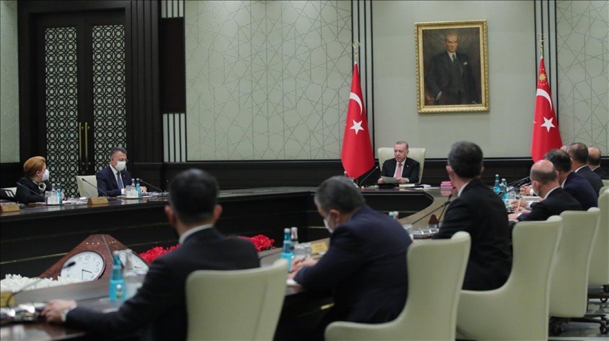 Ertelenen kabine, Cumhurbaşkanı Erdoğan ın başkanlığında bugün toplanıyor #1