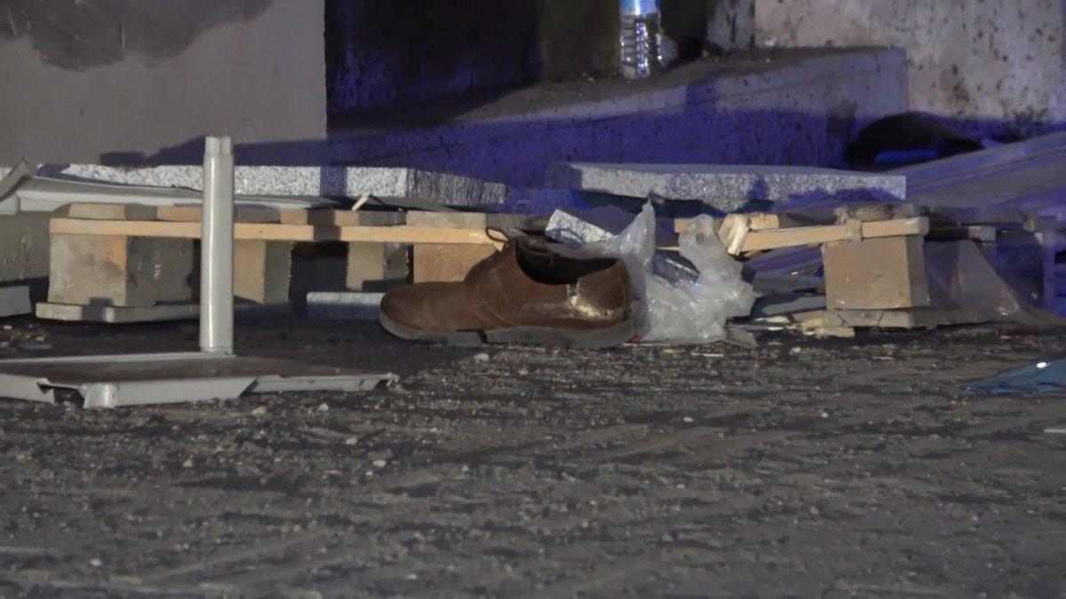 Bursa da kamyonet şoförü seyyar satıcı ve yayalara çarptı #3