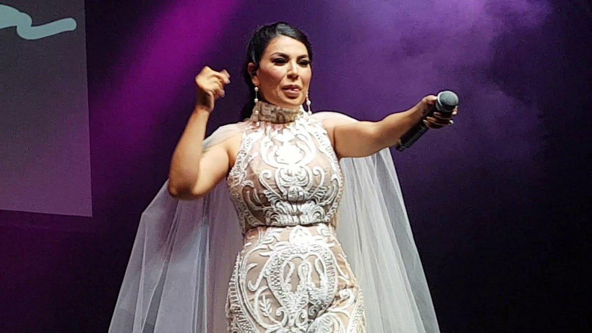 Afgan şarkıcı Aryana Sayeed, Amerikan uçağıyla Türkiye ye geldi #1