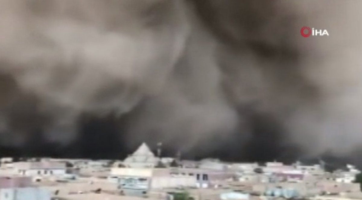 Cezayir de kum fırtınası çıktı #2