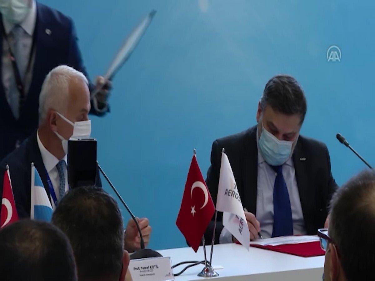Türkiye nin uzay alanındaki ilk ihracatı için imzalar atıldı #1