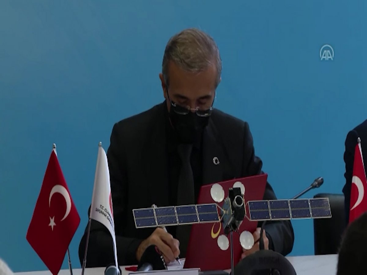 Türkiye nin uzay alanındaki ilk ihracatı için imzalar atıldı #3