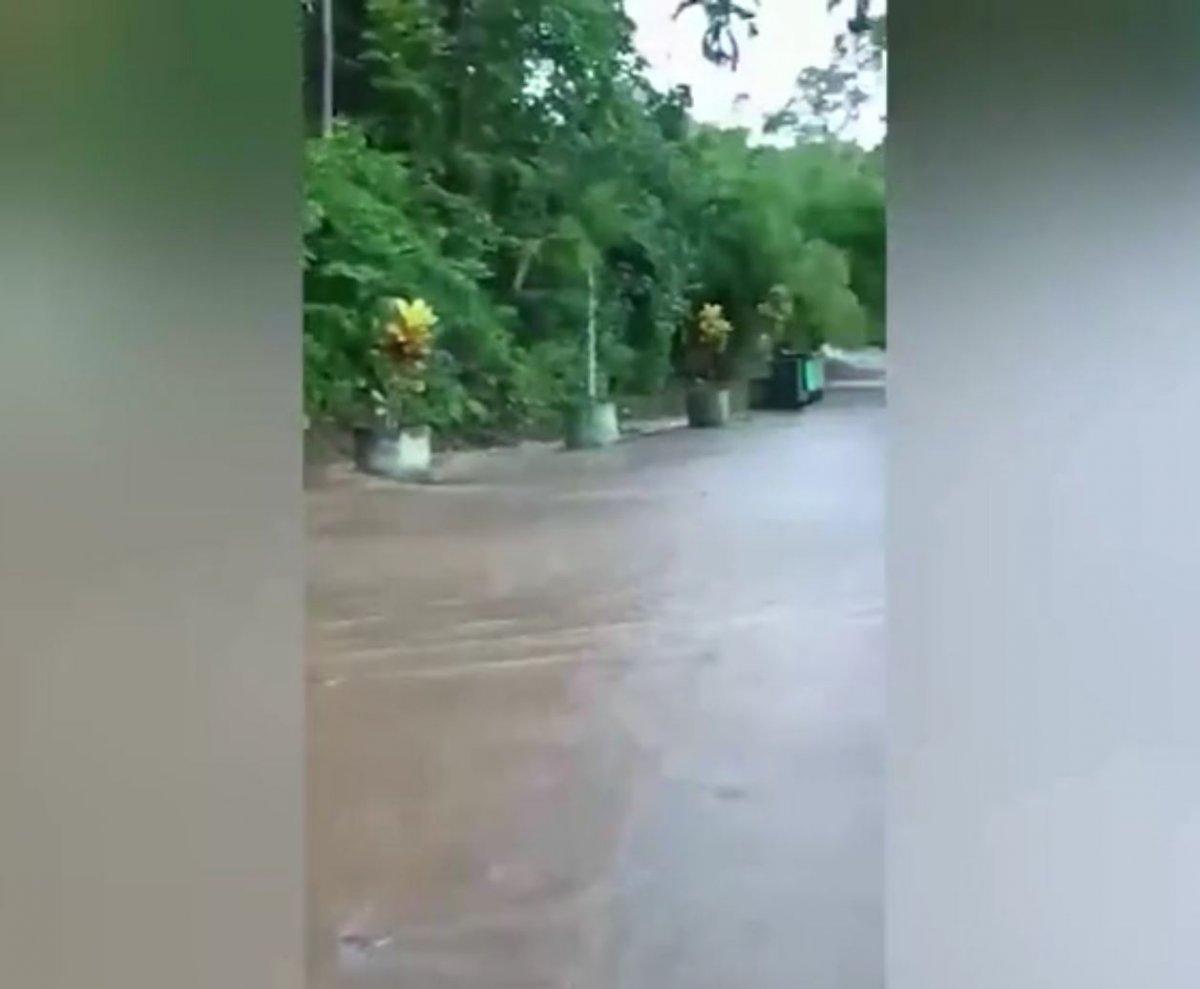 Malezya'nın Kedah eyaleti sele teslim oldu  #1