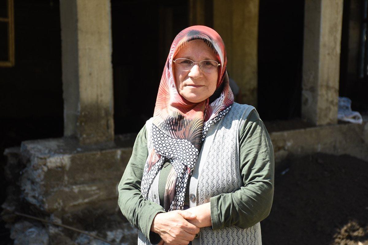 Bartınlı selzede Emine Yavuz, o anları anlattı #1