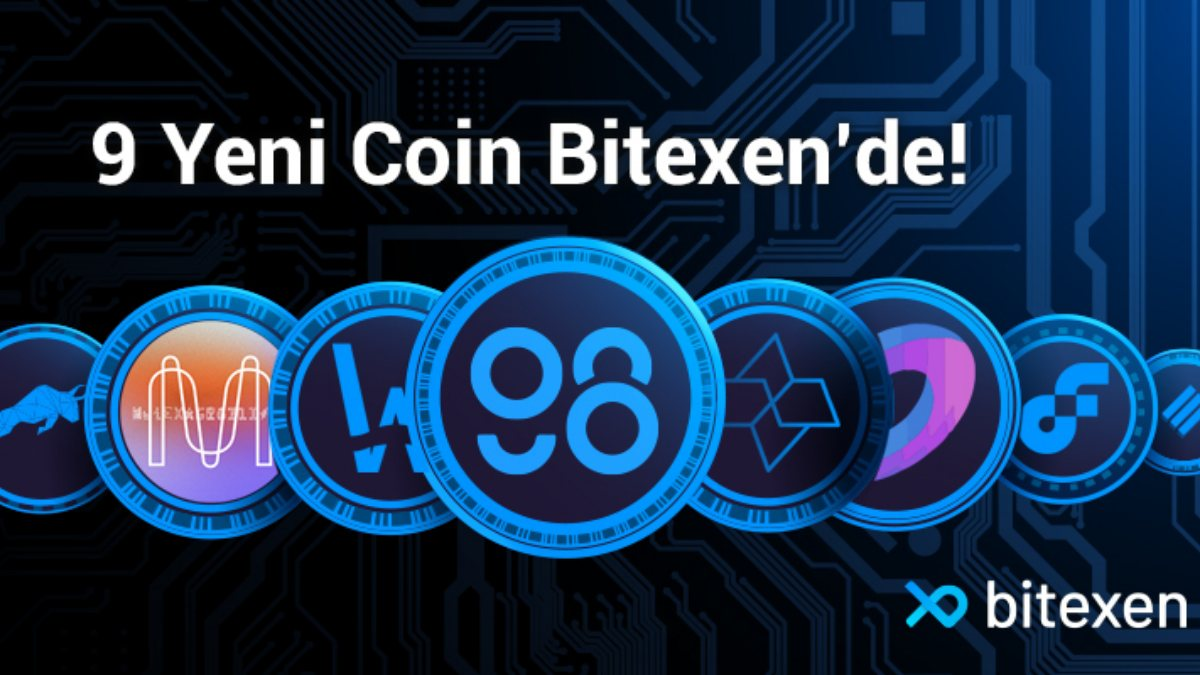 Bitexen Platformuna 9 Yeni Coin Daha Ekledi