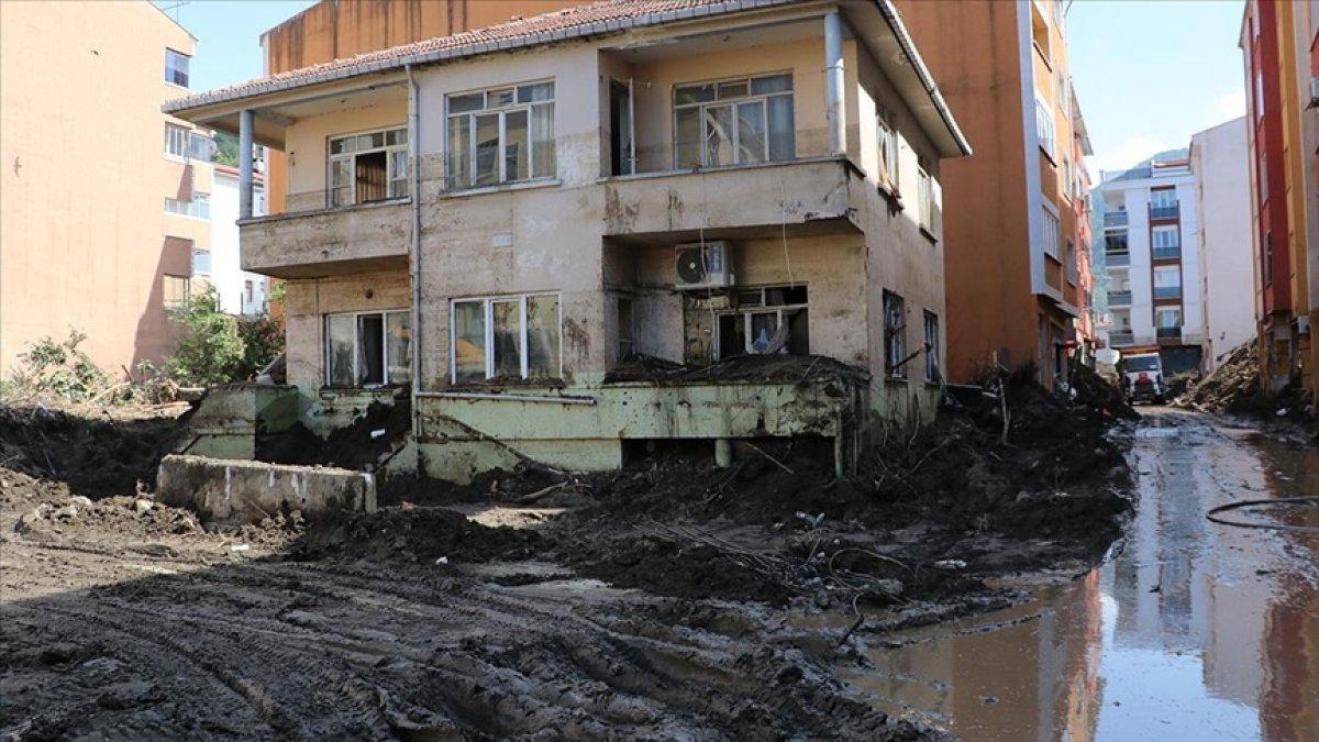 Bozkurt ta sel sularının çekilmesiyle afetin verdiği zarar gün yüzüne çıktı #3