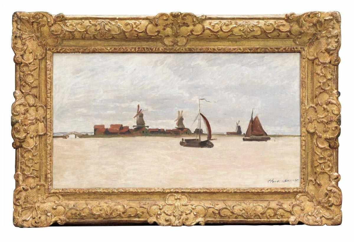 Claude Monet'in 1,4 milyon dolarlık tablosu, hırsızların hedefi oldu #1