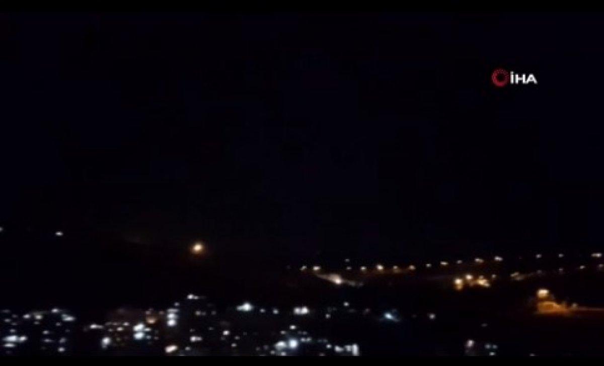 İsrail, Lübnan üzerinden Suriye ye hava saldırısı düzenledi #1