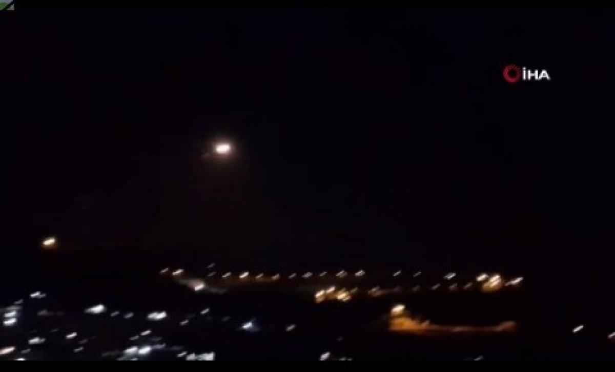 İsrail, Lübnan üzerinden Suriye ye hava saldırısı düzenledi #2