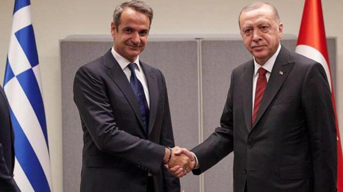Cumhurbaşkanı Erdoğan, Yunanistan Başbakanı ile görüştü #1