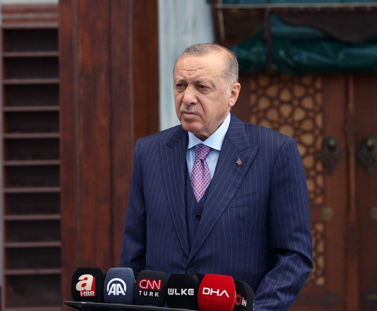 Cumhurbaşkanı Erdoğan dan Taliban ile görüşmeye yeşil ışık #1