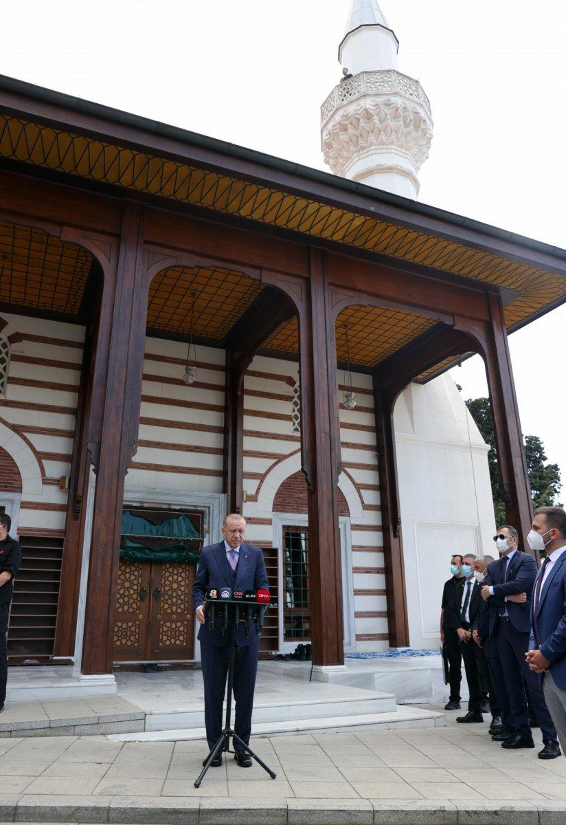 Cumhurbaşkanı Erdoğan dan Taliban ile görüşmeye yeşil ışık #2