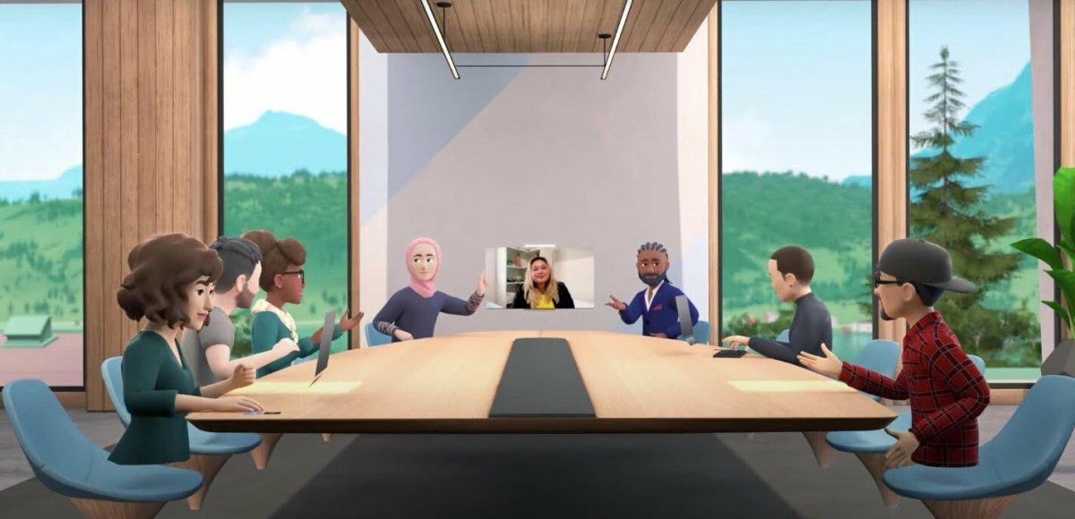 Facebook tan sanal ofis: Horizon Workrooms #5