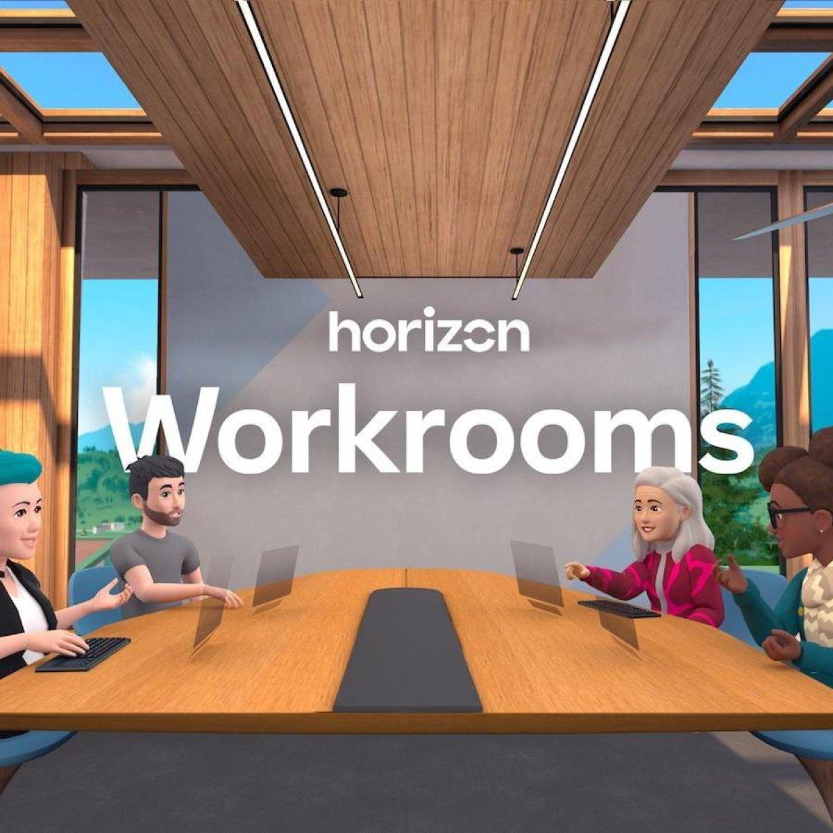 Facebook tan sanal ofis: Horizon Workrooms #1