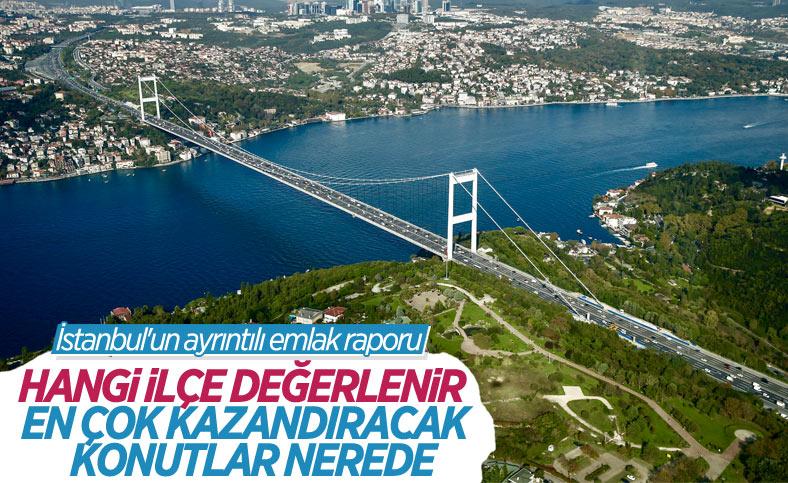 İstanbul'da konut bakımından değeri artan ilçeler