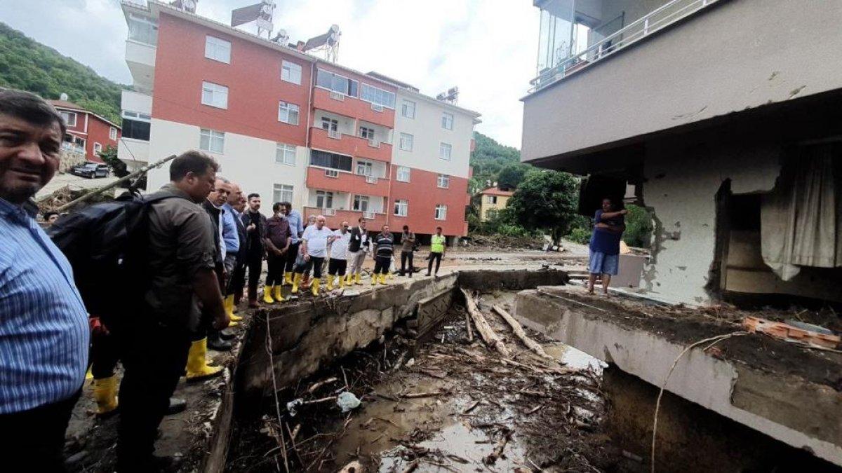 Kastamonu da sel felaketinden etkilenen kadın: Böyle hizmet görmedim  #5
