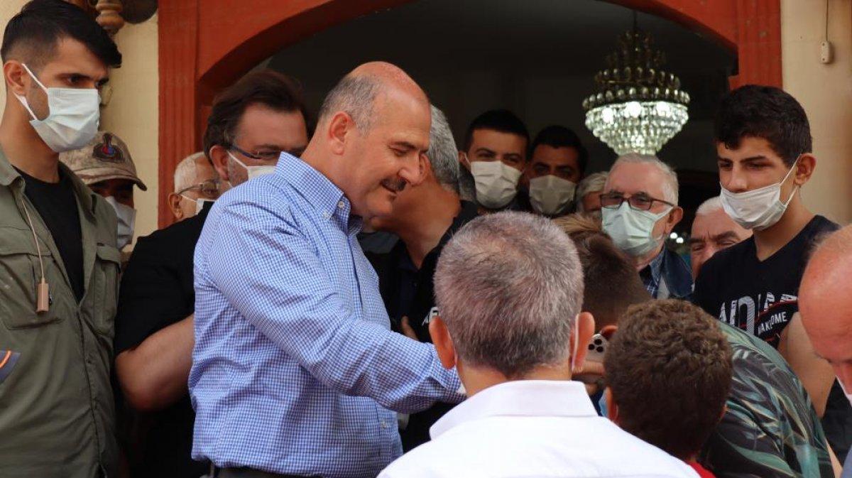 Kastamonu da sel felaketi sonrası ilk cuma namazı kılındı  #3