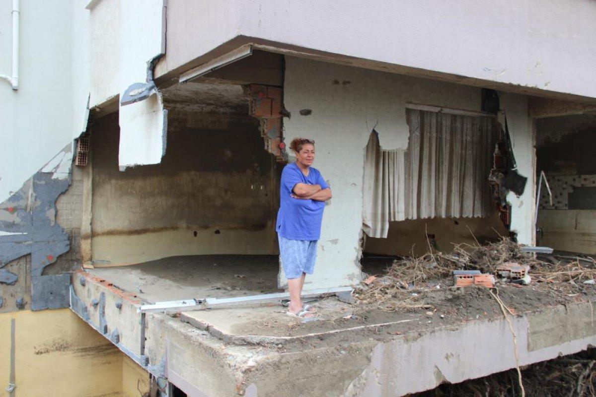 Kastamonu da sel felaketinden etkilenen kadın: Böyle hizmet görmedim  #2