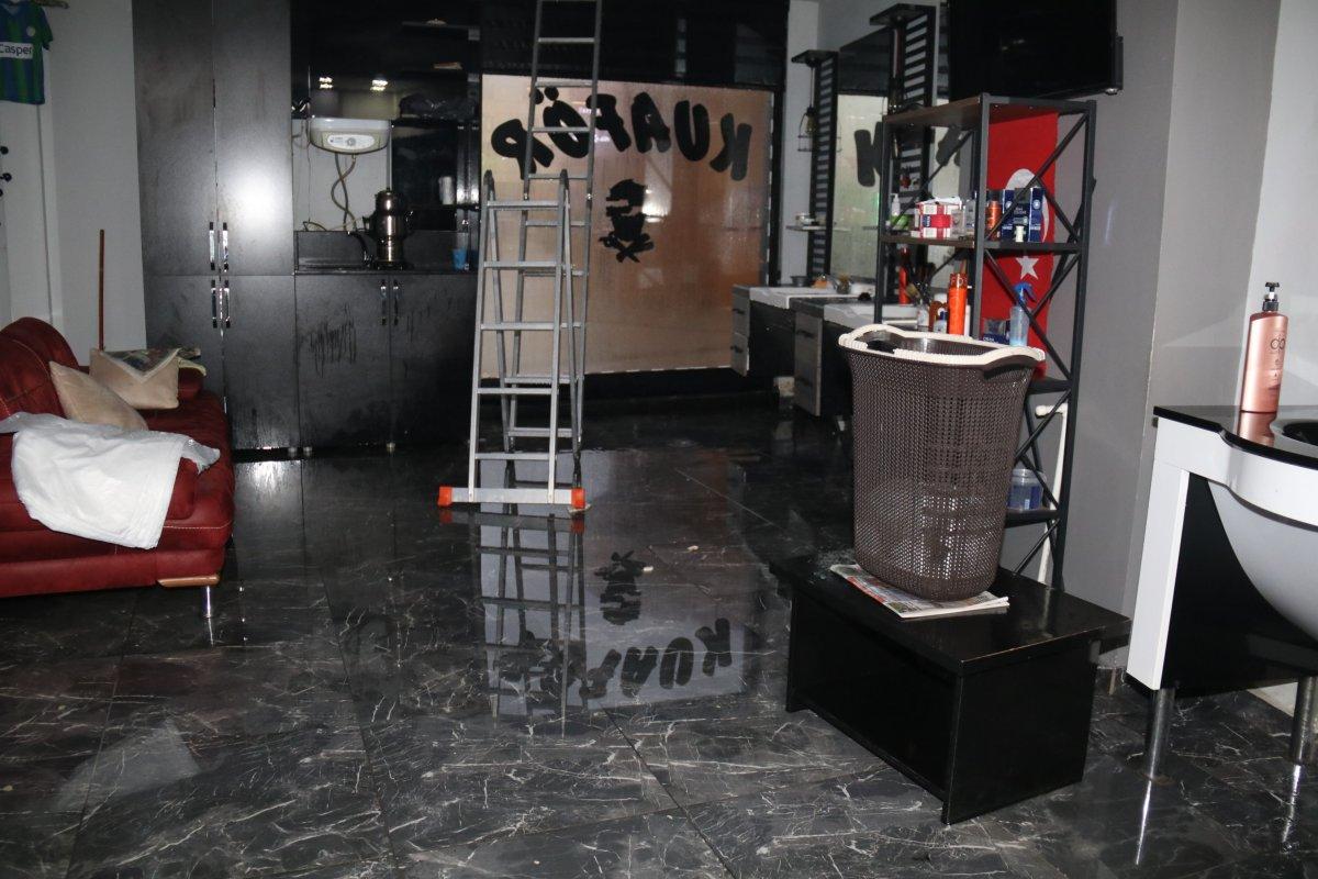 Rize'de sağanak yağış etkili oldu #2