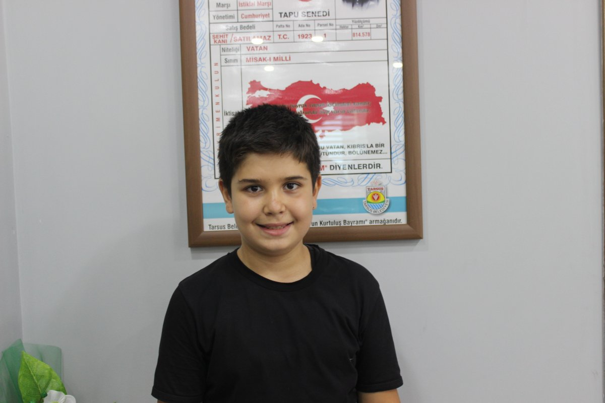 Sinop ta 11 yaşındaki çocuk kumbarasındaki paraları sel mağdurlarına bağışladı #4
