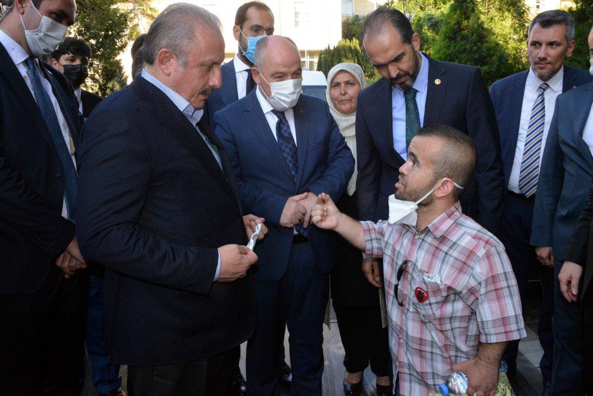 TBMM Başkanı Mustafa Şentop, Kahramanmaraş'ta #4