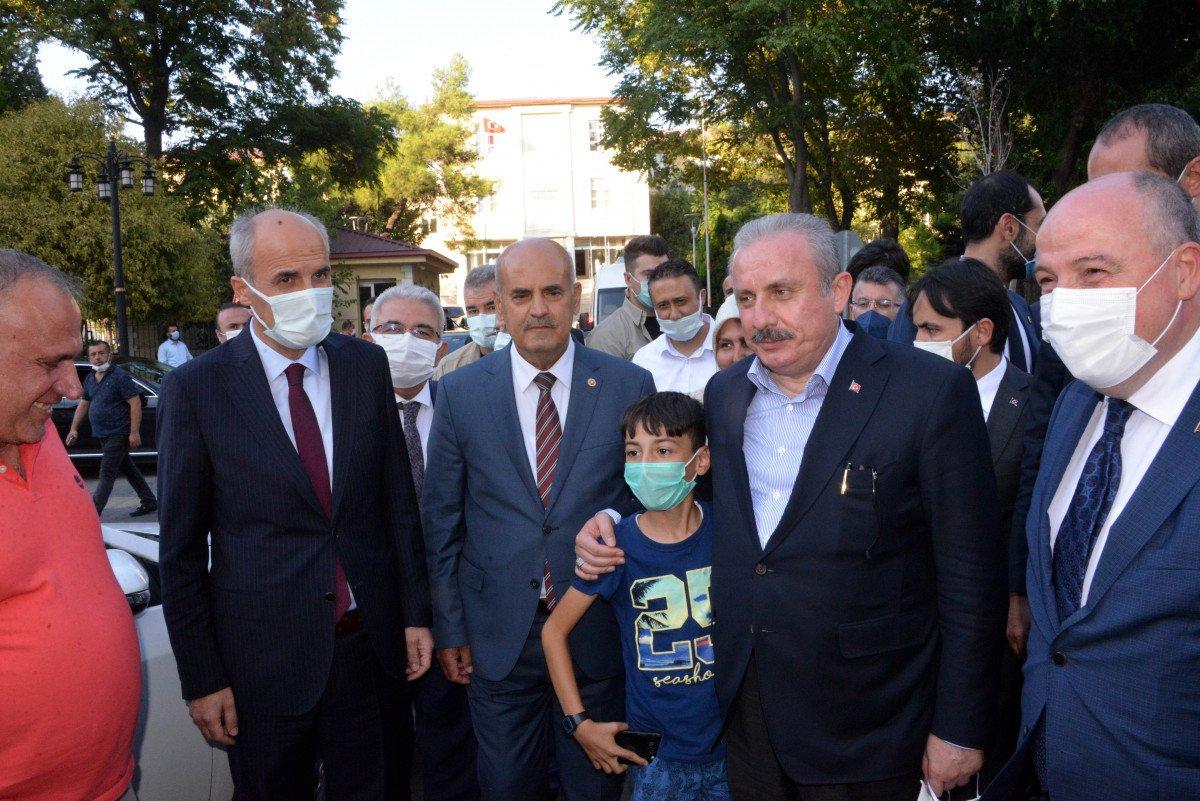 TBMM Başkanı Mustafa Şentop, Kahramanmaraş'ta #1