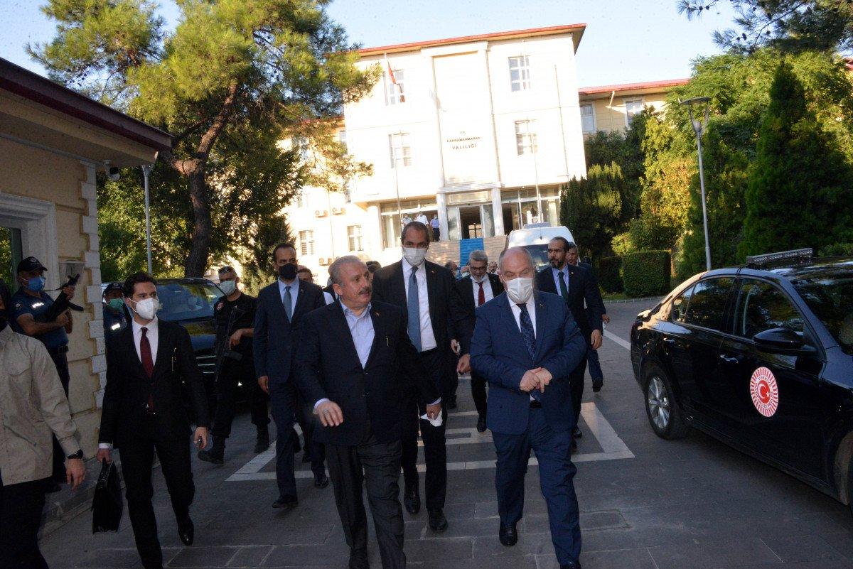TBMM Başkanı Mustafa Şentop, Kahramanmaraş'ta #2