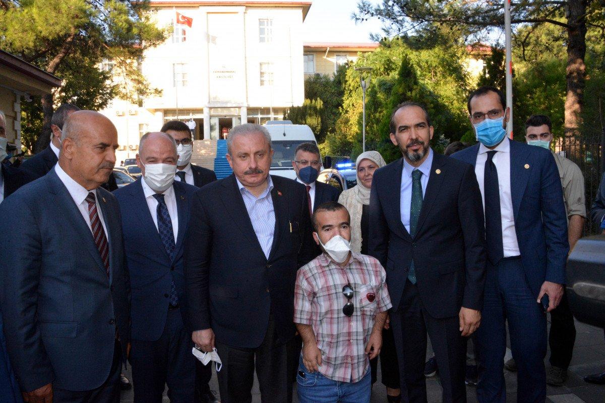TBMM Başkanı Mustafa Şentop, Kahramanmaraş'ta #5