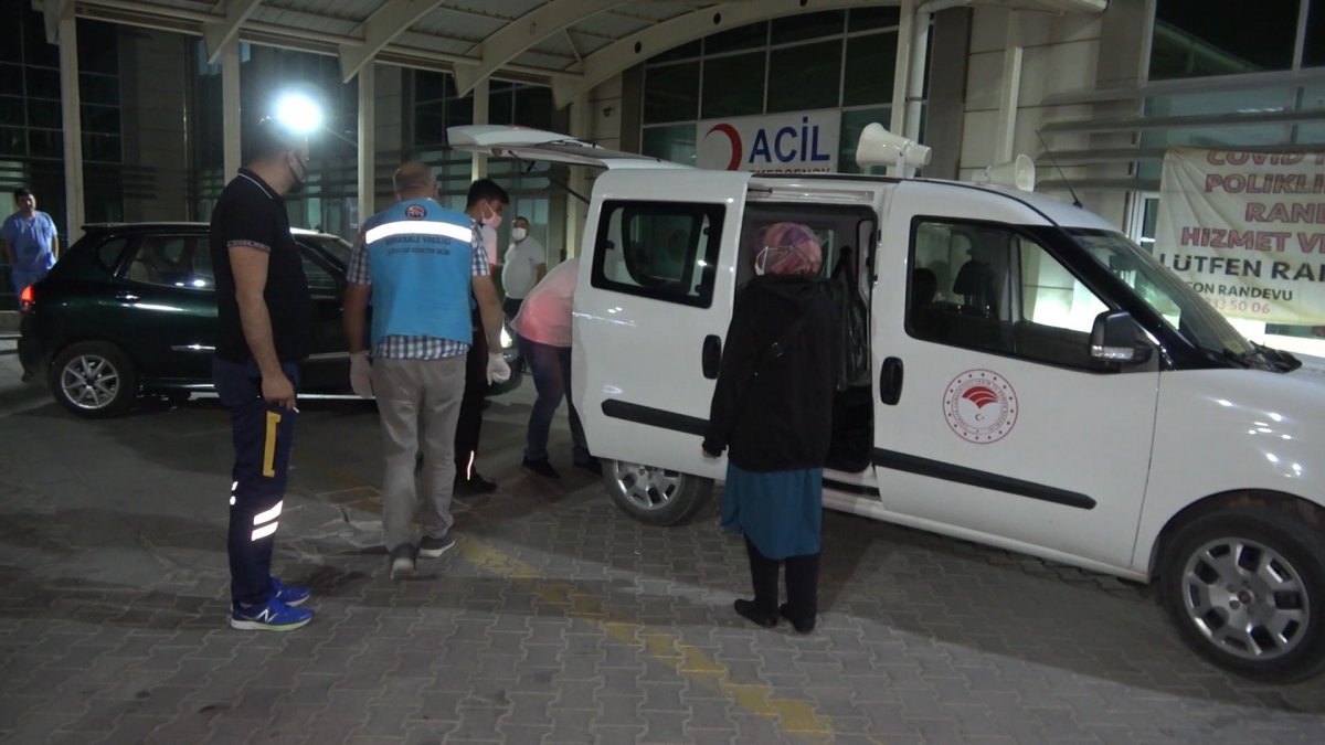 Kırıkkale de koronalı aile trenden indirildi #2