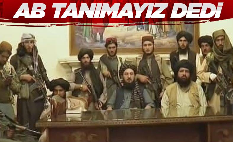 Ursula Von der Leyen: Taliban'ı tanımıyoruz