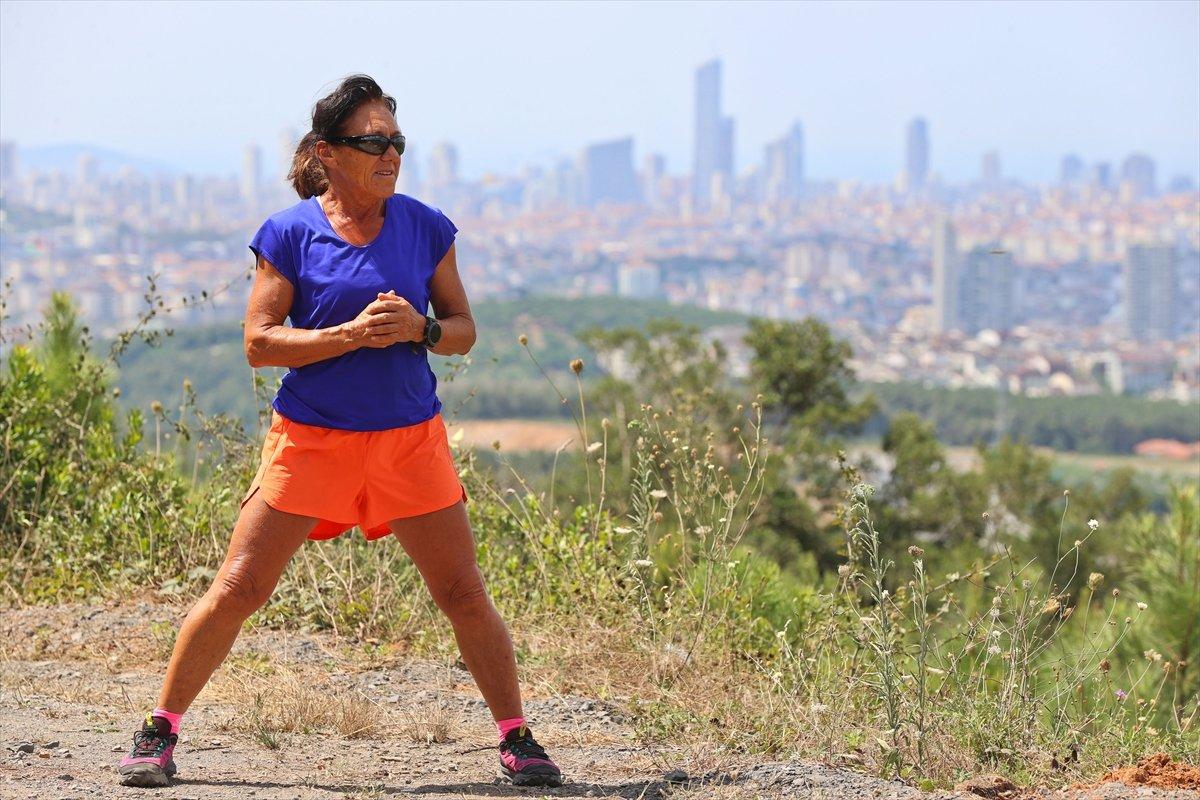 Ultra maratoncu Bakiye Duran, 62 yaşında 300 kilometre koşacak #11